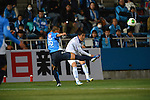 Daisuke Fujii (V Varen),.APRIL 17, 2013 - Football /Soccer : 2013 J.LEAGUE Division 2 ,9th sec match between Yokohama FC 1-2 V Varen Nagasaki at NHK Spring Mitsuzawa Football Stadium, Kanagawa, Japan. (Photo by Jun Tsukida/AFLO SPORT).