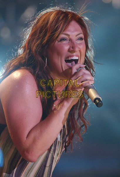 JO DEE MESSINA.2007 CMA Music Festival held at LP Field,Nashville, Tennessee, USA, 09  June 2007..half lenth live on stage concert country performing.CAP/ADM/LF.©Laura Farr/AdMedia/Capital Pictures.