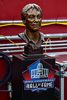 Landover, MD - November 18, 2018: Hall of Fame bust of Redskins legend Bobby Betherd during first half of game between the Houston Texans and the Washington Redskins at FedEx Field in Landover, MD. (Photo by Phillip Peters/Media Images International)