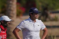 Nacho Elvira (ESP) on the 16th fairway during Round 3 of the Abu Dhabi HSBC Championship at the Abu Dhabi Golf Club, Abu Dhabi, United Arab Emirates. 18/01/2020<br /> Picture: Golffile | Thos Caffrey<br /> <br /> <br /> All photo usage must carry mandatory copyright credit (© Golffile | Thos Caffrey)