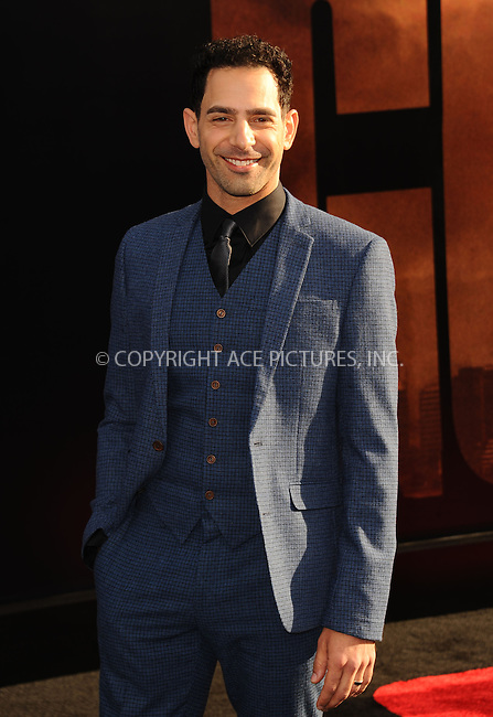ACEPIXS.COM<br /> <br /> May 8 2014, LA<br /> <br /> Patrick Sabongoi arriving at the Los Angeles premiere of 'Godzilla' at Dolby Theatre on May 8, 2014 in Hollywood, California. <br /> <br /> By Line: Peter West/ACE Pictures<br /> <br /> ACE Pictures, Inc.<br /> www.acepixs.com<br /> Email: info@acepixs.com<br /> Tel: 646 769 0430
