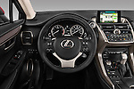 Car pictures of steering wheel view of a 2015 Lexus NX NX 200t 5 Door SUV Steering Wheel