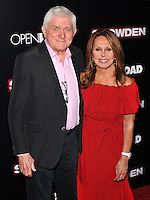 New York,NY-September 13: Phil Donahue, Marlo Thomas attends the 'Snowden' New York premiere at AMC Loews Lincoln Square on September 13, 2016 in New York City. @John Palmer / Media Punch