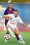 FC Barcelona vs Montpellier HSC: 1-2.<br /> Alvessa Alves vs Marion Torrent.
