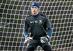 St Johnstone Training…05.02.19<br />Keeper Ross Sinclair pictured during training this morning at McDiarmid Park ahead of tomorrow's game at Hamilton<br />Picture by Graeme Hart.<br />Copyright Perthshire Picture Agency<br />Tel: 01738 623350  Mobile: 07990 594431