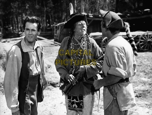 Henry Fonda With Chief John Big Tree (C).in Drums Along the Mohawk.*Filmstill - Editorial Use Only*.CAP/PLF.Supplied by Capital Pictures.