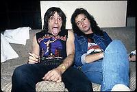 Motorhead photographed in Chicago, Illinois December,  1987 <br /> CAP/MPI/GA<br /> &copy;GA/MPI/Capital Pictures