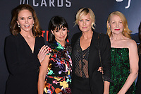 "LOS ANGELES, CA. October 22, 2018: Diane Lane, Constance Zimmer, Robin Wright & Patricia Clarkson at the season 6 premiere for ""House of Cards"" at the Directors Guild Theatre.<br /> Picture: Paul Smith/Featureflash"