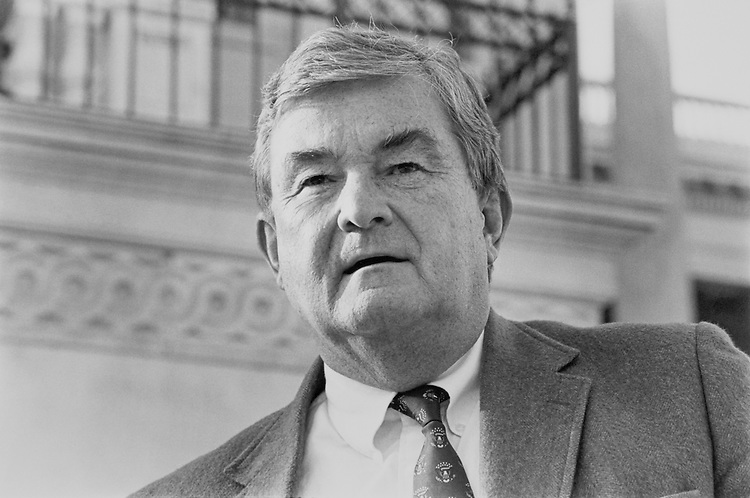 "Rep. Charles Grandison ""Charlie"" Rose III, D-N.C., House of Representatives Member. April 6, 1992 (Photo by Laura Patterson/CQ Roll Call)"