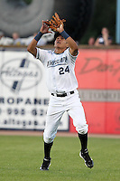 West Michigan Whitecaps outfielder Avisail Garcia (24) during a game vs. the Fort Wayne TinCaps at Fifth Third Field in Comstock Park, Michigan August 18, 2010.   Fort Wayne defeated West Michigan 5-1.  Photo By Mike Janes/Four Seam Images