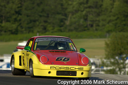 Kohler International Challenge with Brian Redman, 2006<br /> <br /> Ron Barnaba races his 1975 Porsche 911 RSR.<br /> <br /> Please contact me for full-size images.<br /> <br /> For non-editorial usage, releases are the responsibility of the licensee.