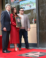 LOS ANGELES - OCT 19:  Alan Horn, Idina Menzel, Josh Gad at the Idina Menzel and Kristen Bell Star Ceremony on the Hollywood Walk of Fame on October 19, 2019 in Los Angeles, CA