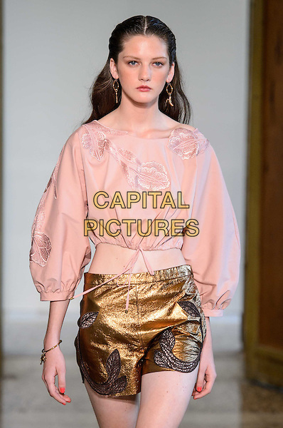 BLUMARINE<br /> Milan Fashion Week  ss17<br /> on September 25, 2016<br /> CAP/GOL<br /> &copy;GOL/Capital Pictures