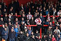Stevenage fans during Stevenage vs Crewe Alexandra, Sky Bet EFL League 2 Football at the Lamex Stadium on 10th March 2018