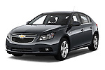 Front three quarter view of a 2013 Chevrolet CRUZE LTZ 5 Door Hatchback 2WD