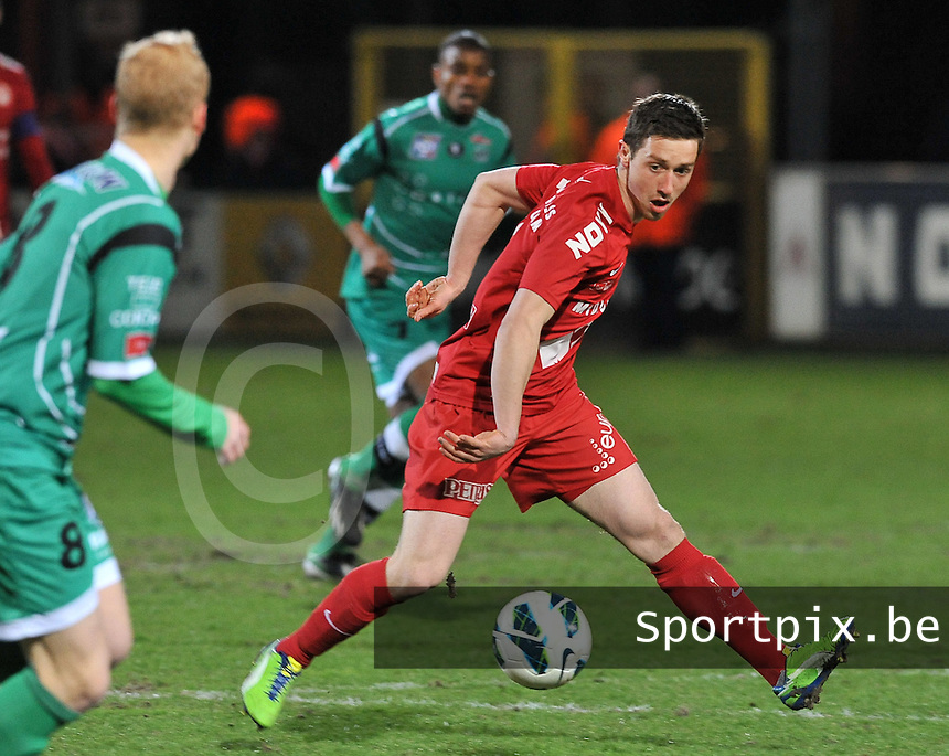 KV Kortrijk - OH Leuven : Brecht Dejaegere.foto VDB / BART VANDENBROUCKE