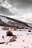 USA, Utah, Park City, the McPolin Farmstead and barn, built in the 1920's