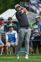 Tyrrell Hatton (ENG) watches his tee shot on 3 during round 2 of the 2019 Charles Schwab Challenge, Colonial Country Club, Ft. Worth, Texas,  USA. 5/24/2019.<br /> Picture: Golffile   Ken Murray<br /> <br /> All photo usage must carry mandatory copyright credit (© Golffile   Ken Murray)