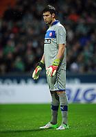 FUSSBALL   1. BUNDESLIGA    SAISON 2012/2013    12. Spieltag   SV Werder Bremen - Fortuna Duesseldorf               18.11.2012 Fabian Giefer (Fortuna Duesseldorf)