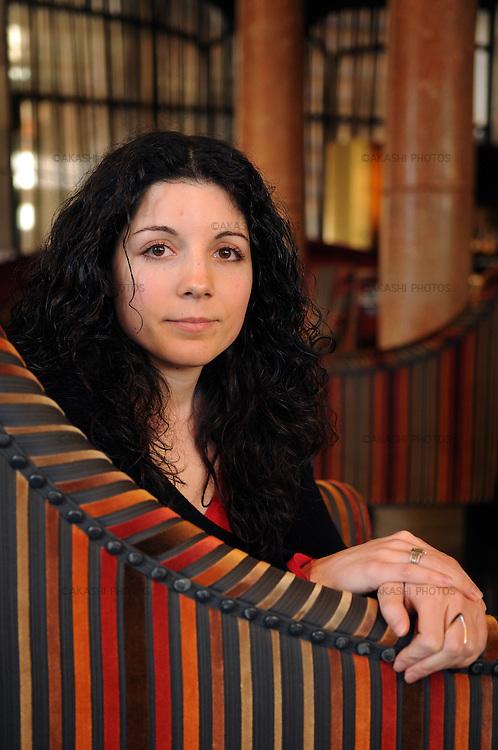Bea Cabezas. Escriptora. Barcelona, març 2008. ©Tina Bagué
