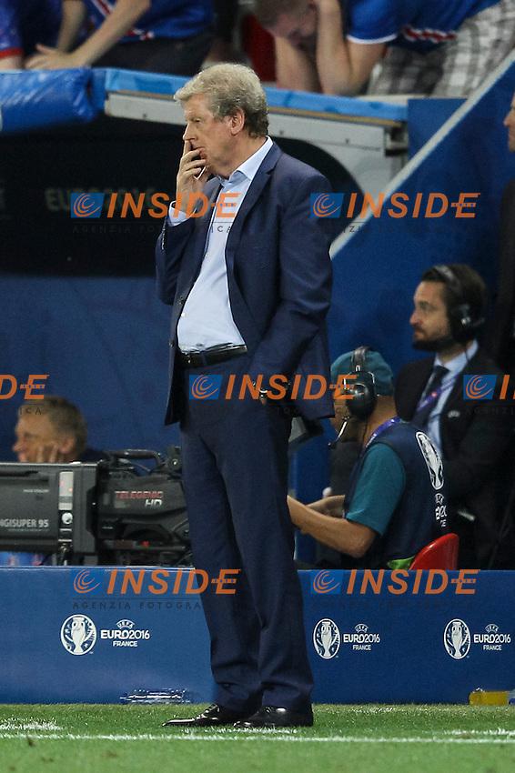 England Manager Roy Hodgson looks dejected Delusione <br /> Nice 27-06-2016 Stade de Nice <br /> Football Euro2016 England - Iceland / Inghilterra - Islanda Round of 16 / Ottavi di finale Foto Daniel Chesterton / Phc / Insidefoto