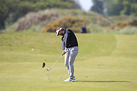 Joost Luiten (NED) on the 3rd fairway during Round 3 of the Betfred British Masters 2019 at Hillside Golf Club, Southport, Lancashire, England. 11/05/19<br /> <br /> Picture: Thos Caffrey / Golffile<br /> <br /> All photos usage must carry mandatory copyright credit (&copy; Golffile | Thos Caffrey)