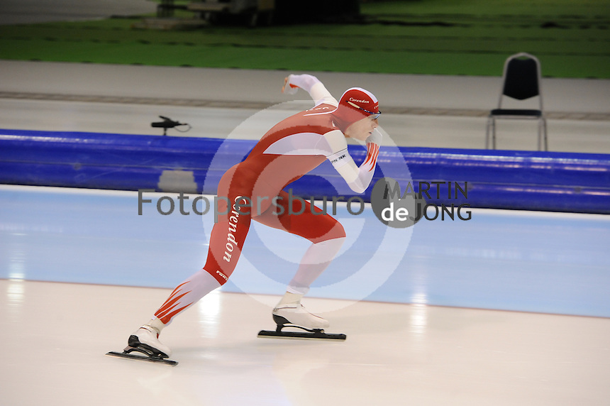 SCHAATSEN: HEERENVEEN: 26-12-2013, IJsstadion Thialf, KNSB Kwalificatie Toernooi (KKT), 5000m, Jan Blokhuijsen, ©foto Martin de Jong