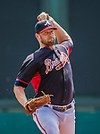 21 March 2015: Atlanta Braves pitcher Eric Stults on the mound during a Split Squad Spring Training game against the Washington Nationals at Champion Stadium at the ESPN Wide World of Sports Complex in Kissimmee, Florida. The Braves defeated the Nationals 5-2 in Grapefruit League play. Mandatory Credit: Ed Wolfstein Photo *** RAW (NEF) Image File Available ***