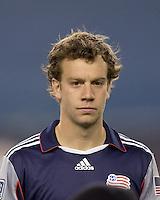 New England Revolution forward Zack Schilawski (15). The New England Revolution defeated Toronto FC, 4-1, at Gillette Stadium on April 10, 2010.