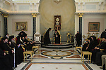 Israel, Jerusalem, a reception at the Greek Orthodox Patriarchate on Pentecost