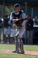 February 28, 2010:  Catcher Bobby Jacobs of the Penn State Nittany Lions during the Big East/Big 10 Challenge at Raymond Naimoli Complex in St. Petersburg, FL.  Photo By Mike Janes/Four Seam Images