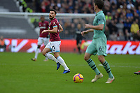 Robert Snodgrass of West Ham United during West Ham United vs Arsenal, Premier League Football at The London Stadium on 12th January 2019