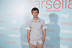 Raul Arevalo poses at `Marsella´ film premiere photocall at Capital cinema in Madrid, Spain. July 17, 2014. (ALTERPHOTOS/Victor Blanco)