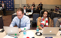 Mark Parsons. The NWSL draft was held at the Pennsylvania Convention Center in Philadelphia, PA, on January 17, 2014.