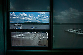 From a window I sometimes glance, Torpedo Factory, Alexandria, VA
