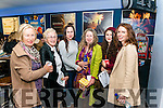 l-r Irene Falvey, Kay O'Sullivan, Evelyn O'Sullivan, Anna Falvey Crossan, Saffron Falvey Enfield and Lynda O'Sullivan all from Killarney pictured at the final screening day at Kerry Film Festival in the Killarney Cinema last Sunday.