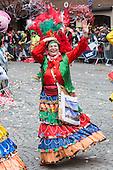 Düsseldorf, Germany. 27 February 2017. Carnival parade on Shrove Monday (Rosenmontag) in Düsseldorf, North Rhine-Westphalia, Germany.