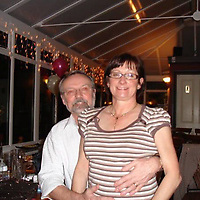 "Pictured L-R: Graham Westbury with wife Janet<br /> Re: A well-known Pembrokeshire businessman has been jailed for stealing from his frail mother's retirement fund.<br /> Graham Westbury, 66, was given Power of Attorney to handle the financial affairs of his mother Joyce when she was diagnosed with Alzheimer's.<br /> A court heard Joyce died aged 90 and her fortune was due to be split between Westbury and his brother Keith.<br /> But father-of-four Westbury had spent every penny of her £245,000 legacy.<br /> His wife and children sobbed in the public gallery as he was jailed for three-and-a-half years.<br /> Judge Daniel Williams told Westbury: ""It was only after your mother's death that your dishonesty came to light.<br /> ""You helped yourself for years until her estate was reduced to nothing.<br /> ""There was a breach of a high-degree of trust aggravated by your dishonesty over a long period of time. <br /> ""You appear to be wholly unburdened by any form of guilt at a all.""<br /> Westbury who runs a Hillarys Blinds franchise in Haverfordwest admitted four charges of theft."