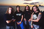 Various portraits & live photographs of the rock band, Sepultura
