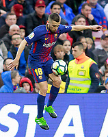 FC Barcelona's Jordi Alba during La Liga match. March 4,2018. (ALTERPHOTOS/Acero) /NortePhoto.com NORTEPHOTOMEXICO