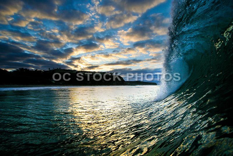 Salt Creek Sunrise in Monarch Beach California