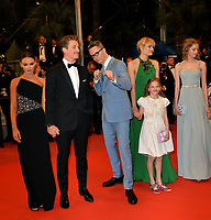 "CANNES, FRANCE. May 17, 2019: Keleigh Sperry, Miles Teller,  Nicolas Winding Refn, Liv Corfiven & Lola Winding Refn at the gala premiere for ""Too Old to Die Young – North of Hollywood, West of Hell"" at the Festival de Cannes.<br /> Picture: Paul Smith / Featureflash"