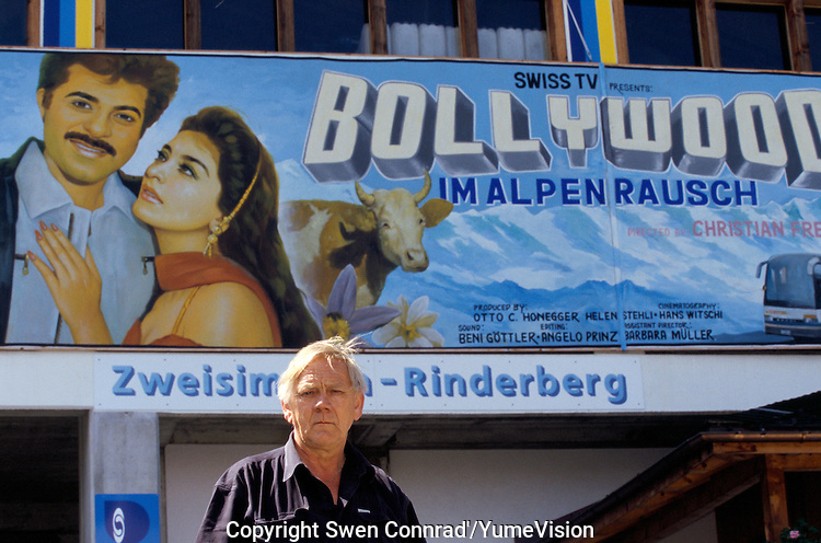 Jakob Tritten logistician for the Bollywood film ''Live only for you'' in Zweisimmen Switzerland.