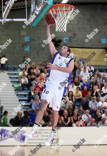 2008-09-14 / Basketbal / Pitzemburg / Maarten Van Gelder..Foto: Maarten Straetemans (SMB)