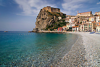 Scilla, Calabria, May 2007. Many picturesque towns line the mountainous coastline if Calabria. Photo by Frits Meyst/Adventure4ever.com