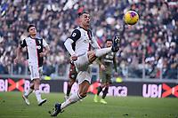 Cristiano Ronaldo of Juventus <br /> Torino 6-1-2020 Juventus Stadium <br /> Football Serie A 2019/2020 <br /> Juventus FC - Cagliari Calcio <br /> Photo Federico Tardito / Insidefoto