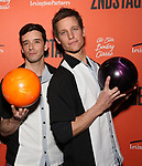 Michael Urie and Ward Horton attend The Second Stage Theater's  32nd Annual All-Star Bowling Classic at the Lucky Strike on February 11, 2019 in New York City.