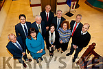Included are Michael Scannell, Kerry County Council, Moira Murrell, CEO Kerry County Council, Oliver Murphy, IT Tralee,  and Jerry Maloney, Enterprise Ireland. Noel Spillane, South Kerry Partnership, Brid McElligott, IT Tralee, Dónal Mac an tSíthigh (Údaras na Gaeltachta), Bridget Fitzgerald, Kerry County Council, Tomás Hayes, Kerry Enterprise Board, Eamon O'Reilly NEWKD