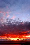 Sunset over the Pacific, Corona del Mar, CA.