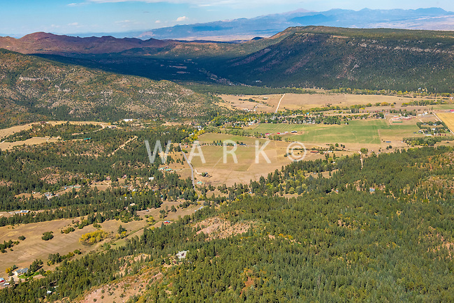 Beulah, Colorado aerial. Oct 2019
